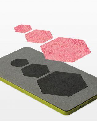 Accuquilt Die Hexagons #55011