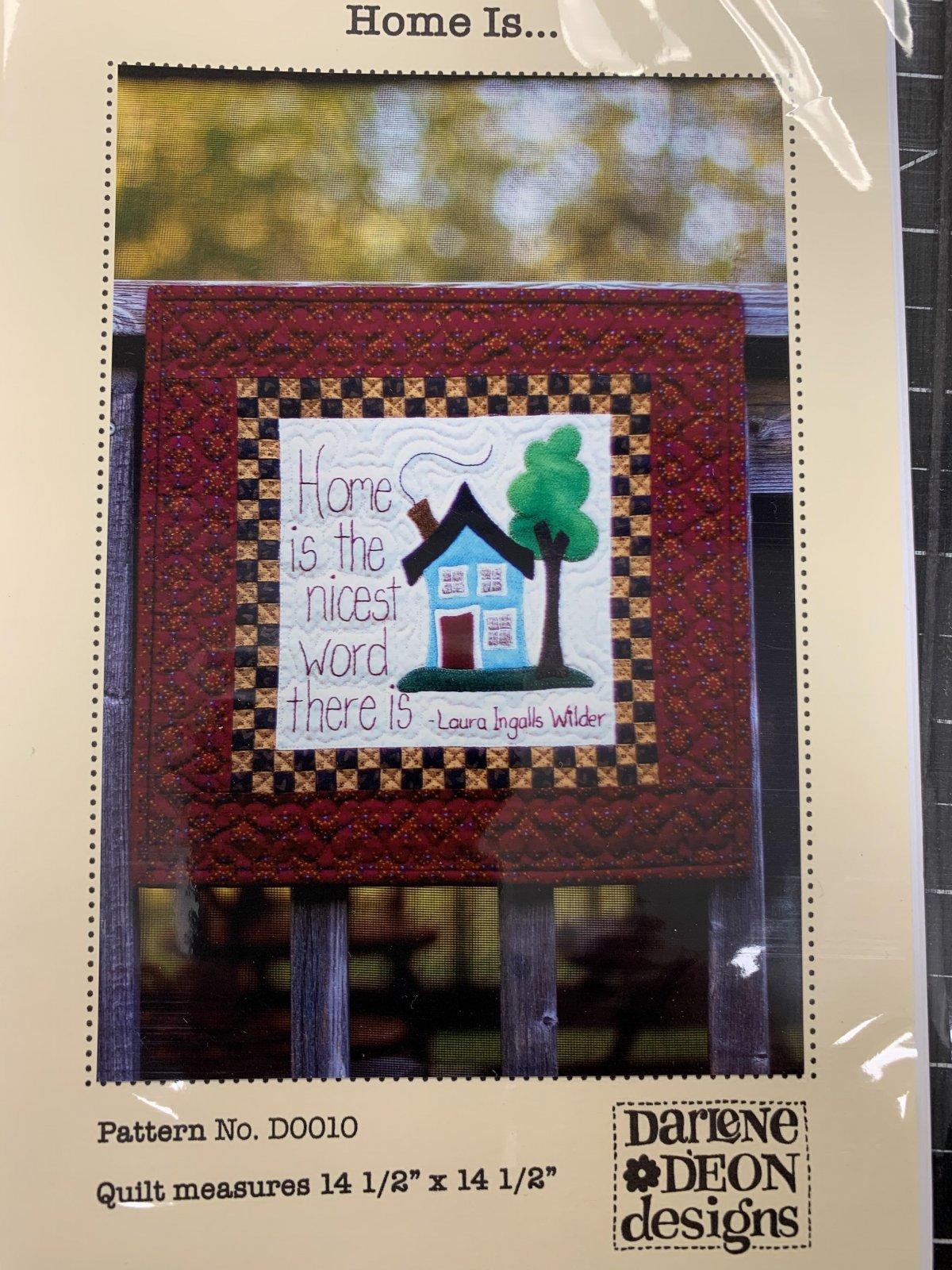 Home is... By Darlene D?Eon Designs