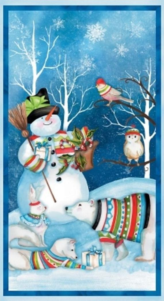 Snowy Friends Panel