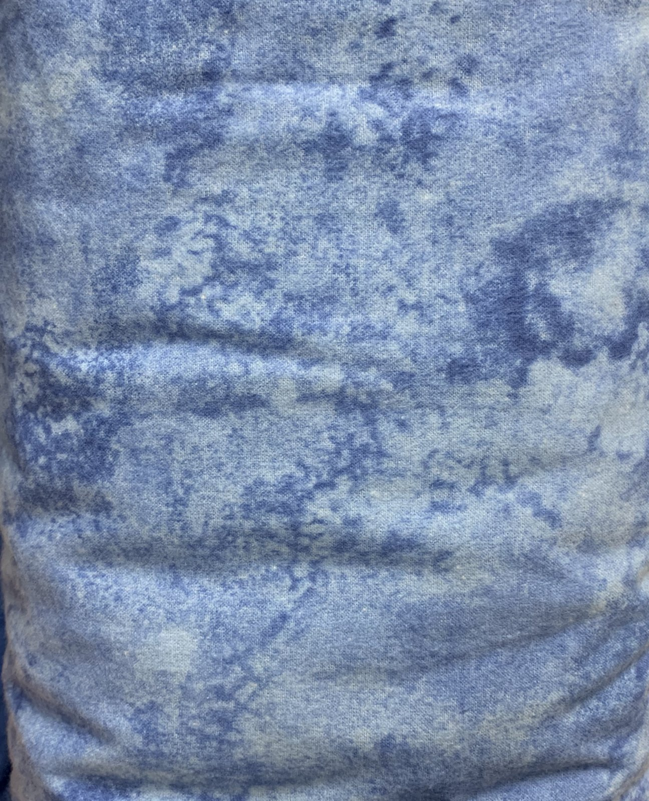 Wide flannel light blue