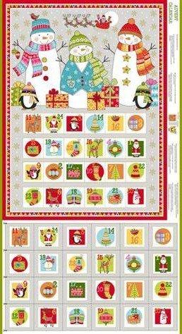 Festive Advent Calendar Panel