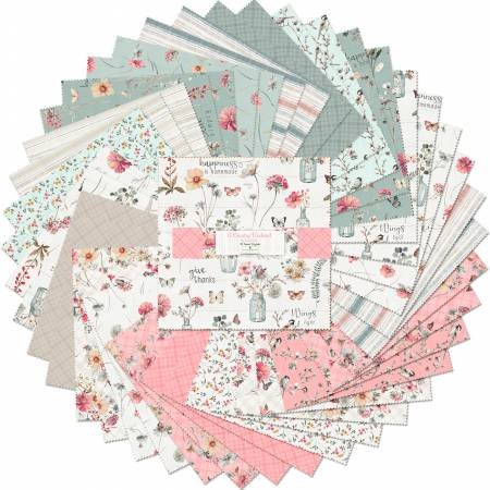 A Country Weekend Charm Pack 42 pc