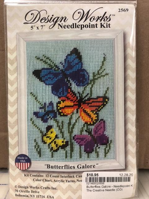 Butterflies Galore - Needlepoint Kit