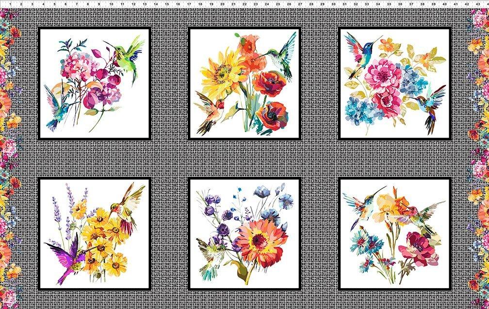 Hummingbird Lane Panel of six