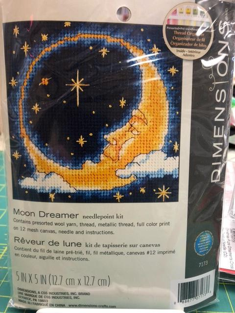 Dimensions Moon Dreamer needlepoint kit