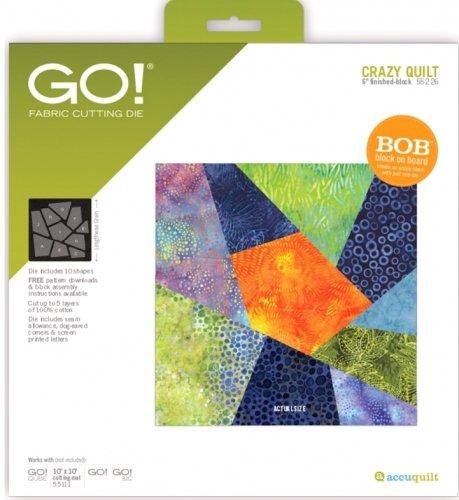GO! Crazy Quilt-6 Finished Die