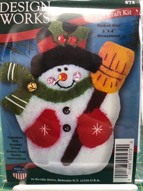 Felt Craft Kit/Snowman