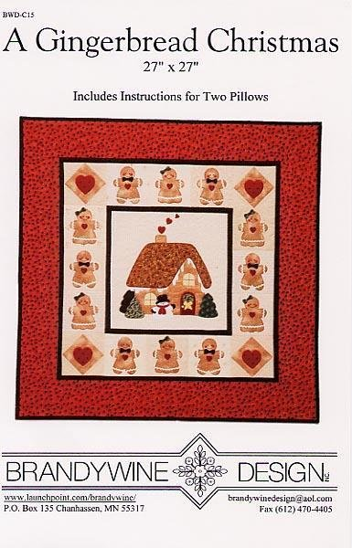 A Gingerbread Christmas Brandywine Designs
