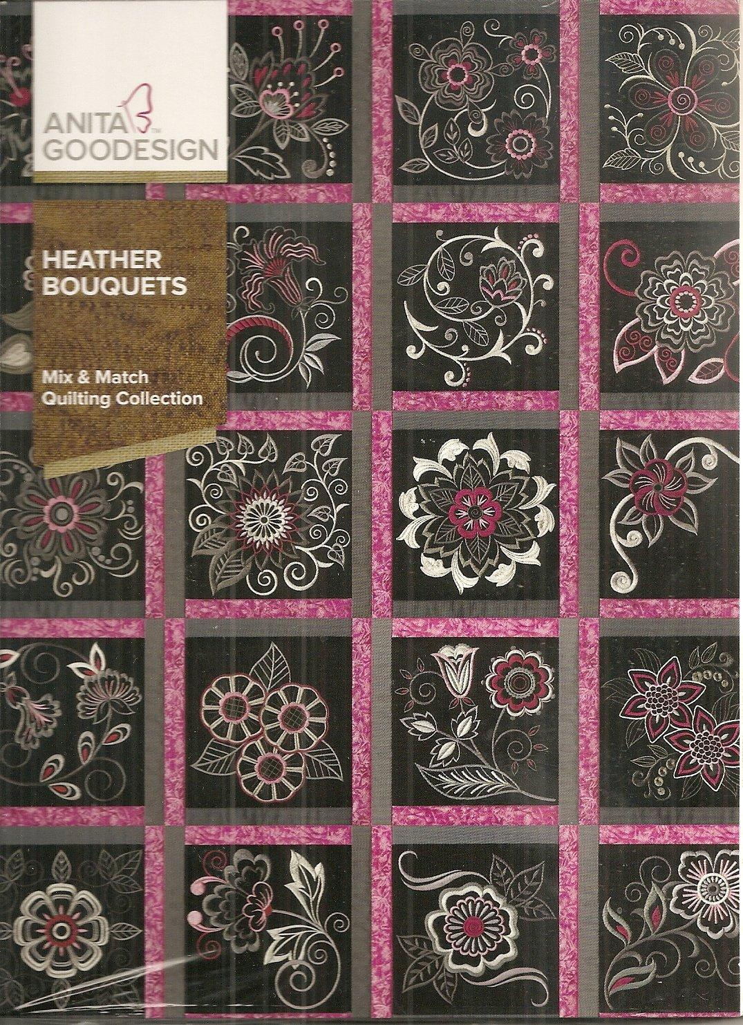 Anita Goodesign Heather Bouquets