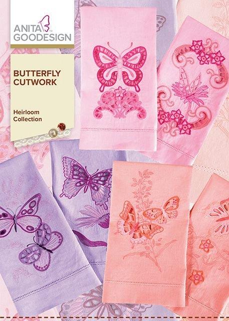 Anita Goodesign Butterfly Cutwork