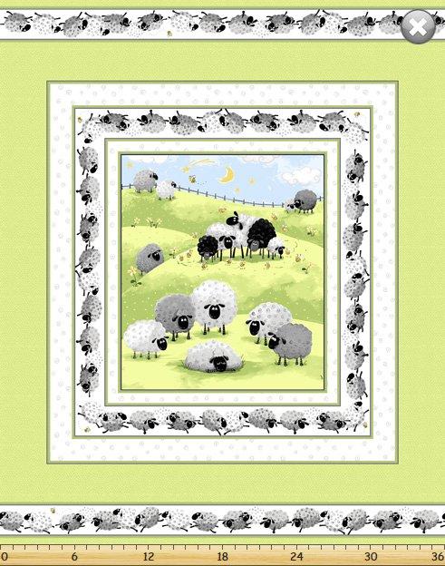 Lewe the Ewe Panels