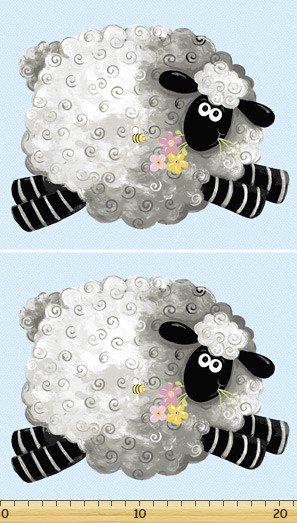 Lewe the Ewe Panel of 2 sheep