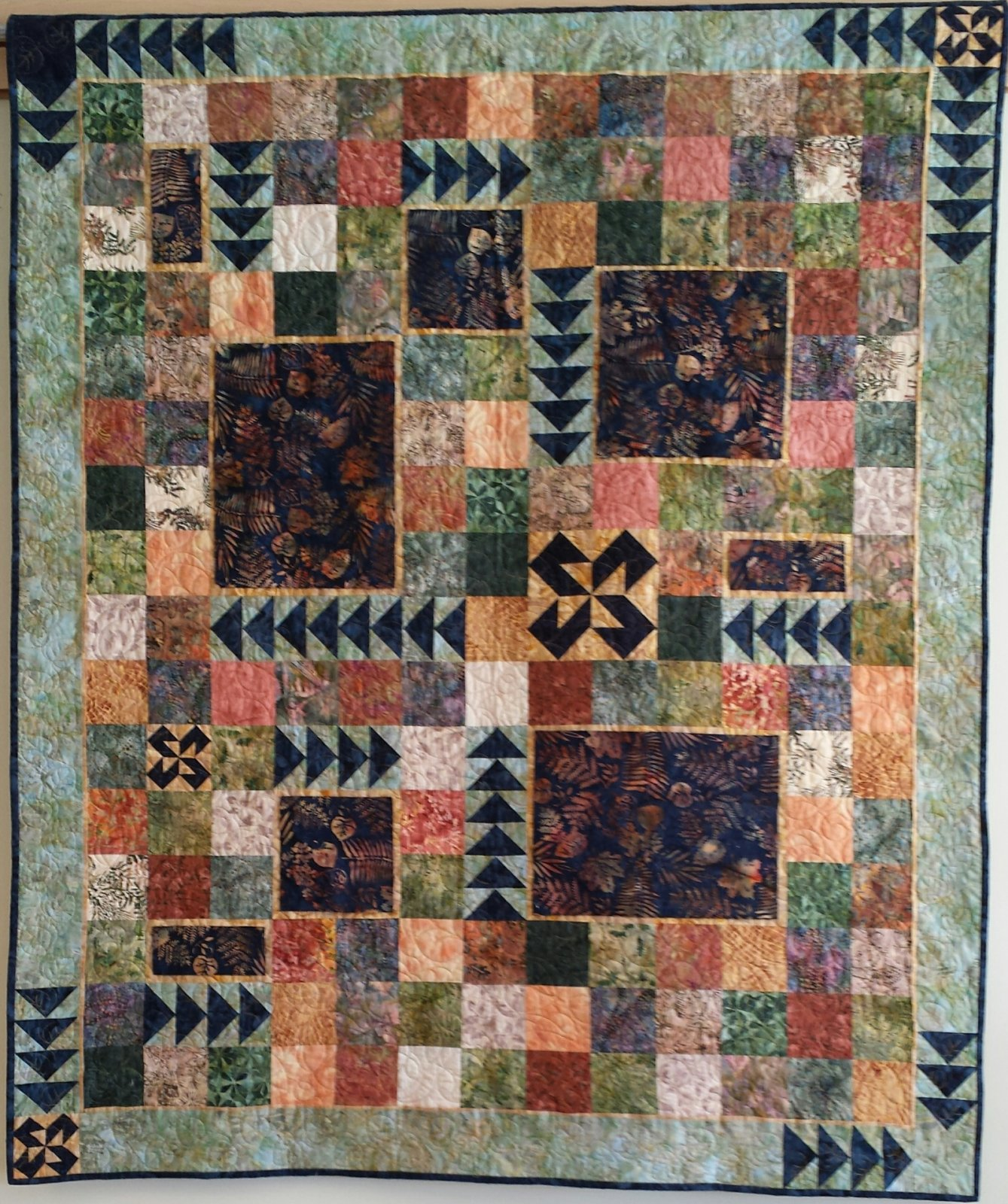 Shades of Colorado Quilt Kit with Pattern