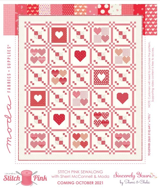 Together Quilt Kit with Pattern