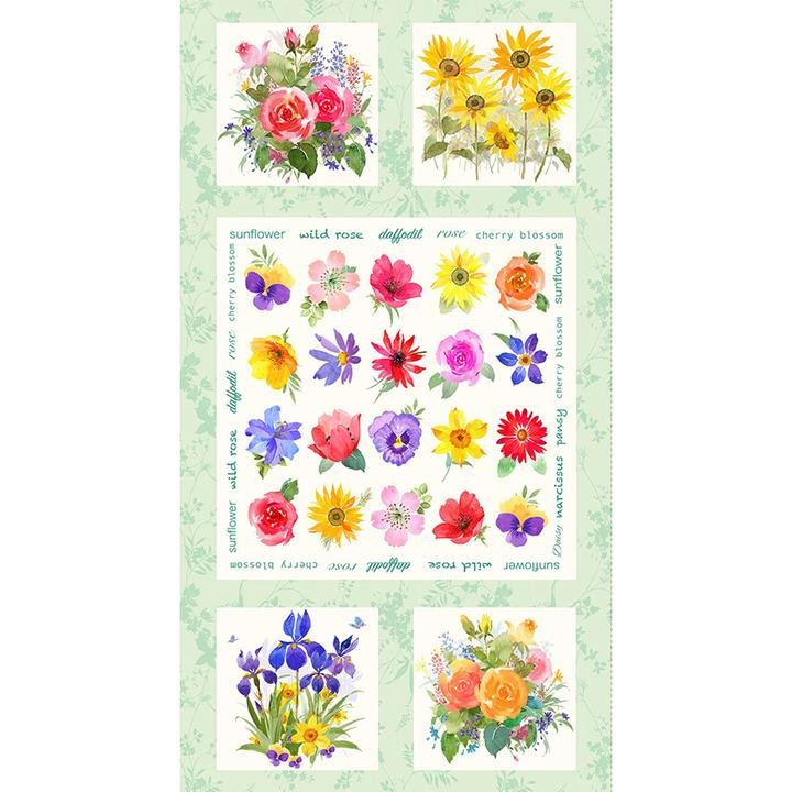 Flower Shop Panel
