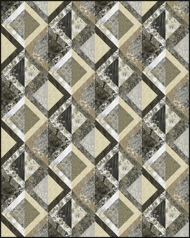 Zephyr Quilt Kit with Pattern