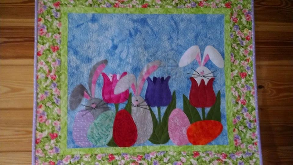 Hoppy Spring Wall Hanging Pattern