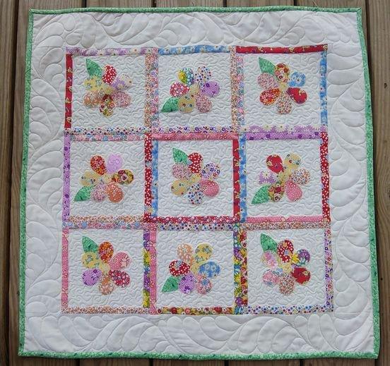JQ Feedsack Flowers Pattern