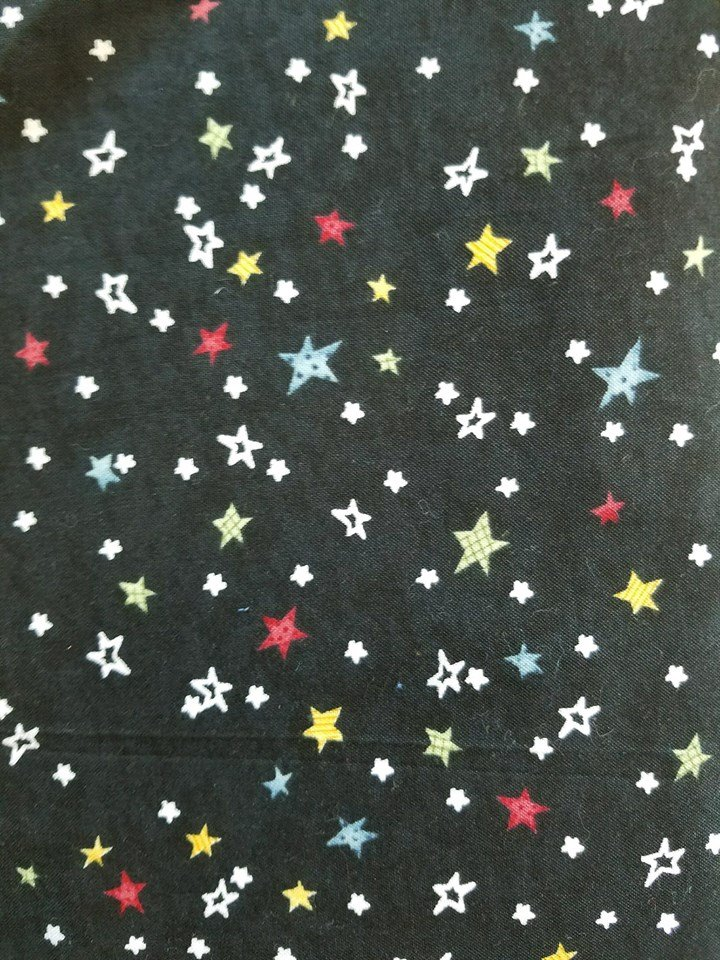 Chalking Sucess  Black with stars