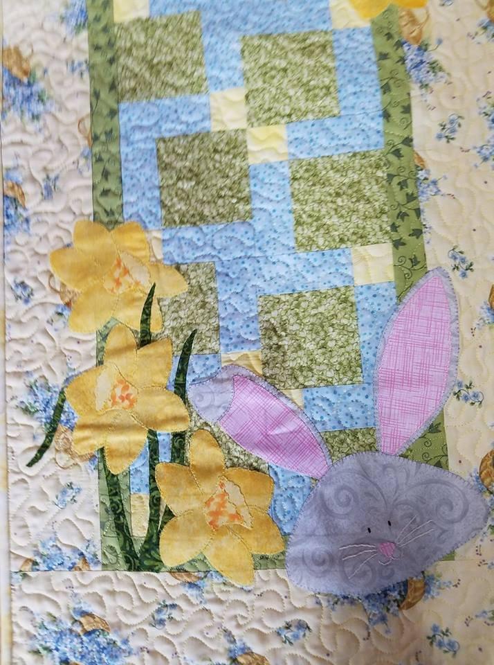 JQ Daffodil Bunny Pattern