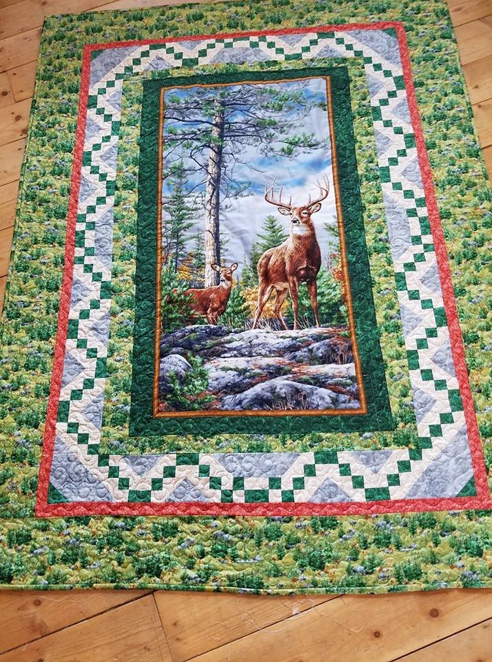 deer mountain quilt 8233
