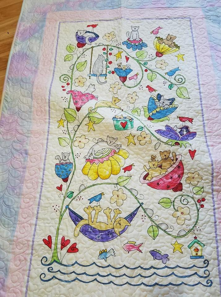 Happy Cats Quilt