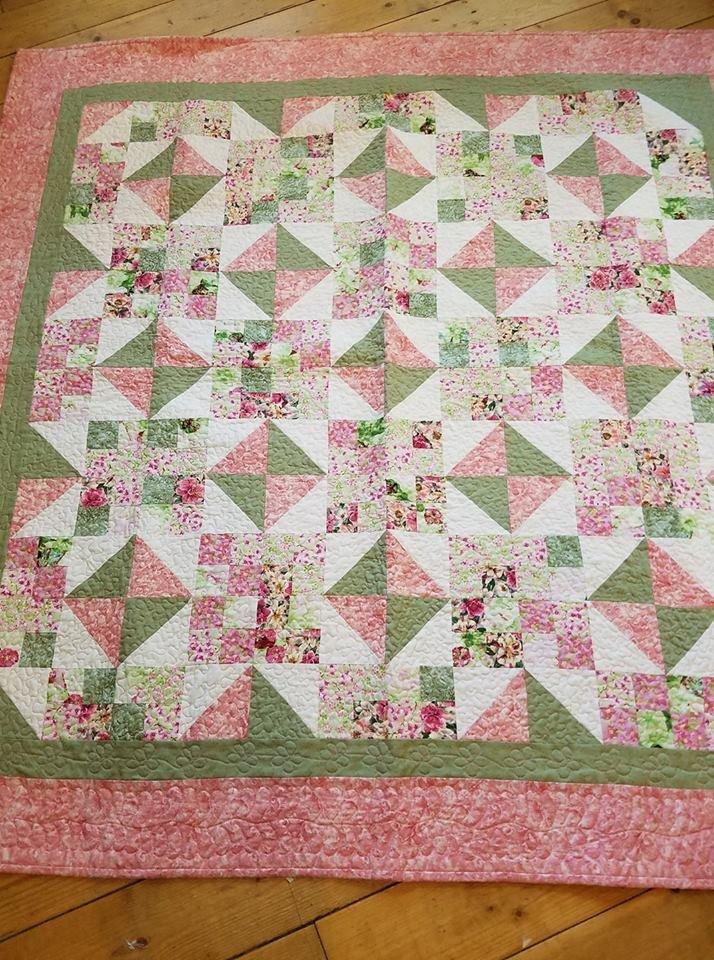 Pink & Green Jewel Box