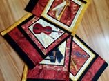 Music Placemats set of 4