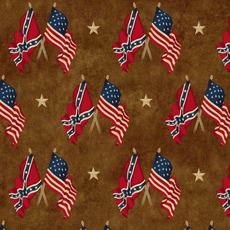 Gettysburg Flags Brown