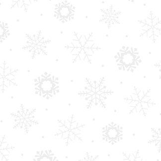Illusions - Snowflake - White/White