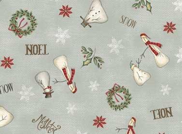 RR Christmas Whimsy 25208 Grey