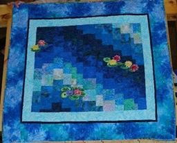 Water Lilly Wall Hanging
