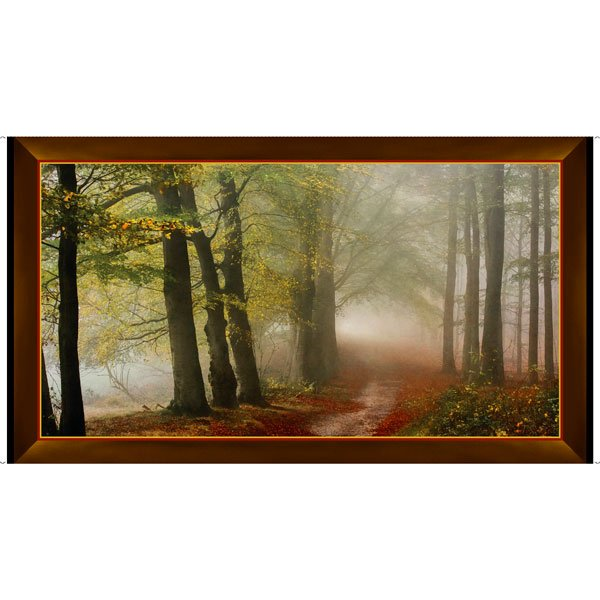 Artworks IX - Morning Mist Panel 2/3 yd
