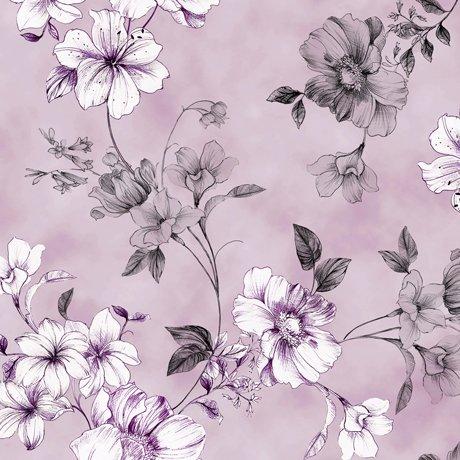 Juliette - Floral Vine Lavender
