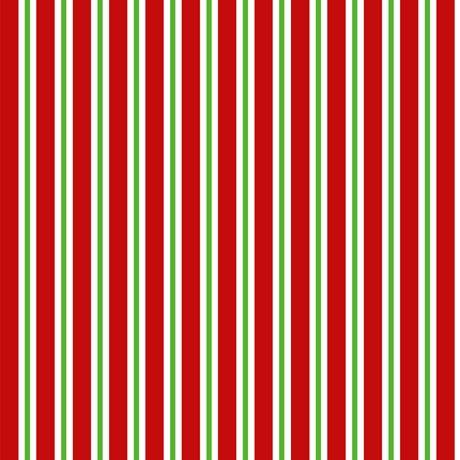Santa's Workshop Candy Cane Stripe