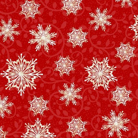 Winter Greetings Snowflakes
