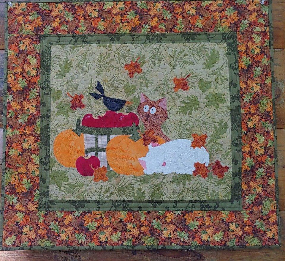 Seasonal Cats - Autumn