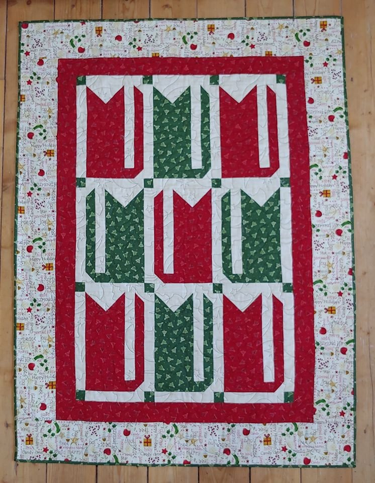 JQ Pieced Christmas Cats Pattern