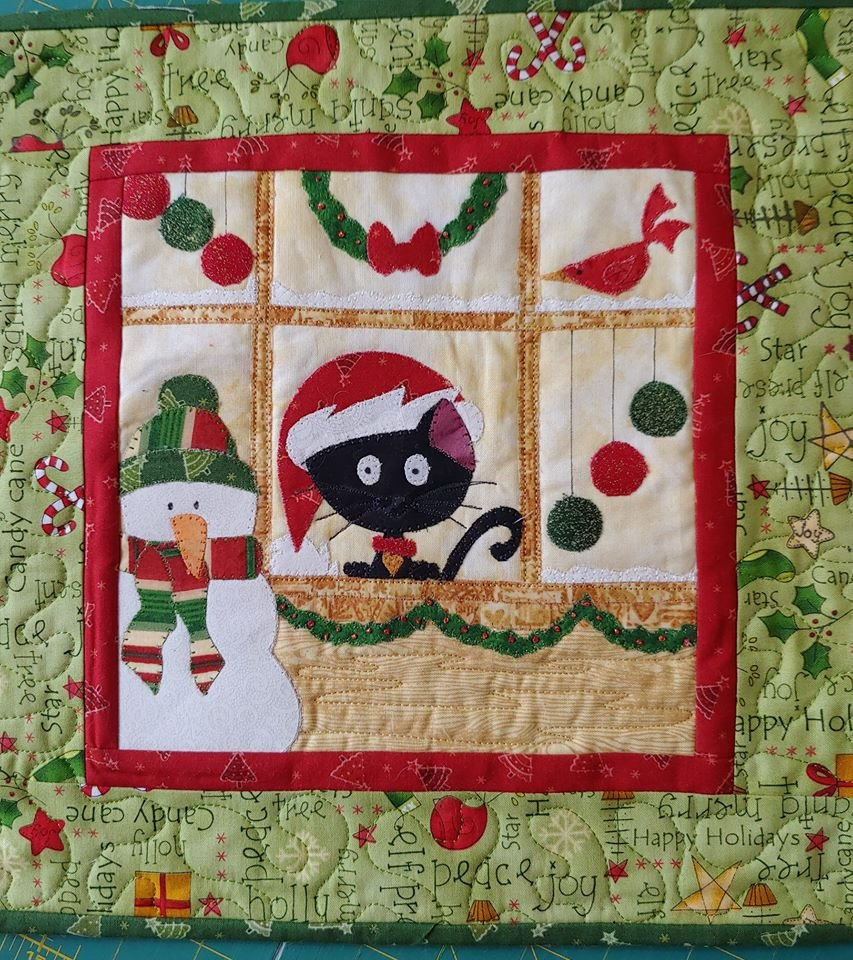 JQ Orchid Where's Santa Christmas 2019 Pattern