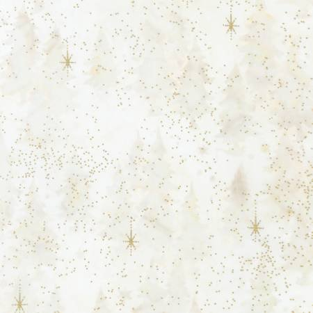 Magical Winter - Trees w/ Metallic Batik