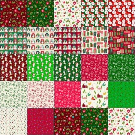Christmas Miniatures 10 squares (42)