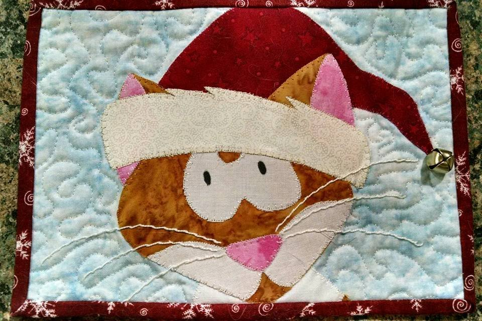 Jimmy's Christmas Mug Rug Kit