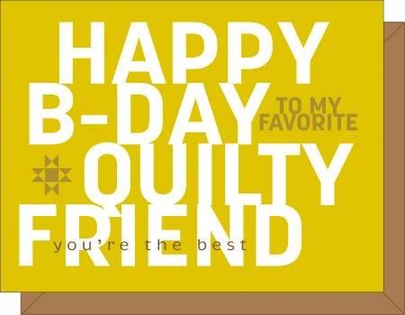 Happy B-Day Gift Card