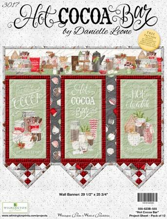 Hot Cocoa Bar Wall Banner Kit