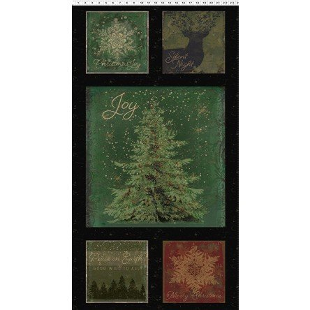Let Nature Sing 2/3 yd panel