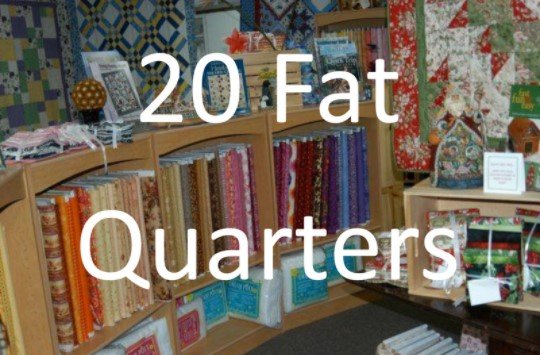 20 Assorted Fat Quarters for just $30
