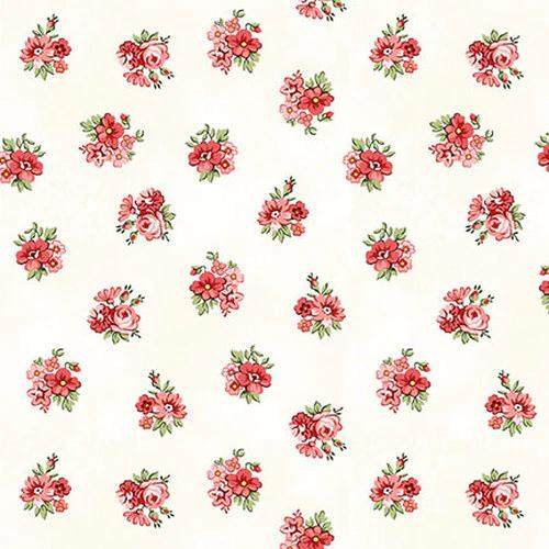 Violet's Garden - Calico - Cream