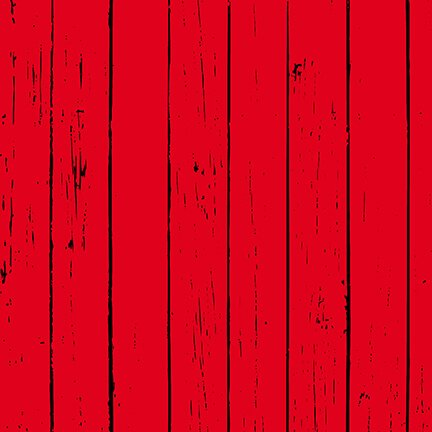 Warm Winter Wishes - Wood Grain Red