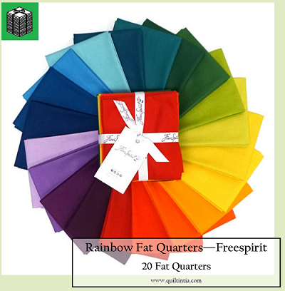Designer Essentials - Rainbow Fat Quarter Pack - 20 Fat Quarters