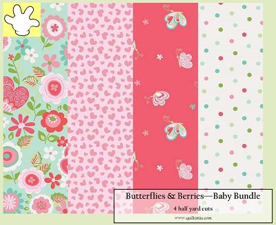 Butterflies & Berries - Baby Bundle